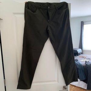 Olive Green Lululemon ABC Pants